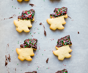 chocolate, christmas, and christmas tree image