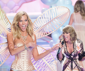 Karlie Kloss, Taylor Swift, and Victoria's Secret image