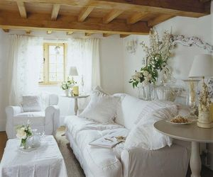 chic, decore, and flowers image