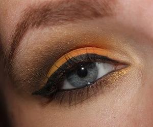 eye makeup, make-up, and eyes image