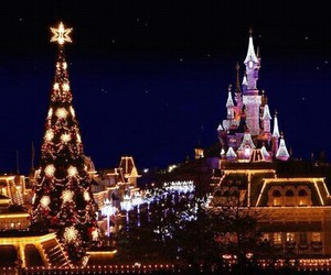 disney, hiver, and lumiere image