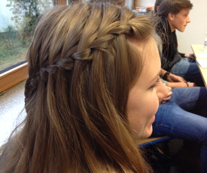 bored, braid, and class image