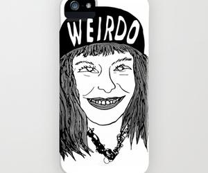 art, iphone case, and weirdo image
