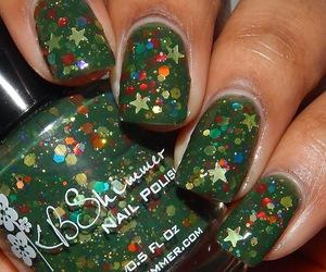 christmas, nails, and nailart image