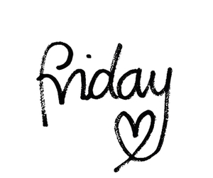 friday, weekend, and happy image