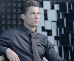 black, cristiano ronaldo, and handsome image