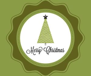 christmas, elegant, and green image