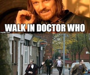 doctor who and boromir image