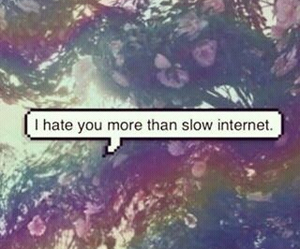 hate, internet, and quote image