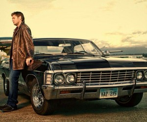 supernatural, dean winchester, and impala image