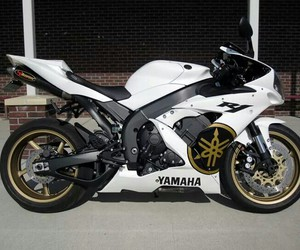 motorcycle and YAMAHA image