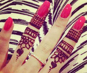 nails, henna, and ring image