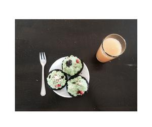 breakfast, cake, and christmas image