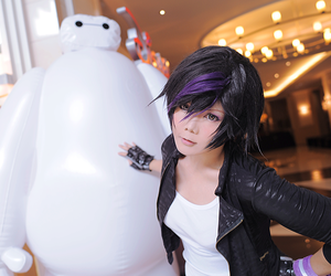 cosplay, big hero 6, and gogo tamago image