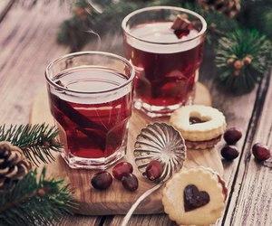 christmas and tea image