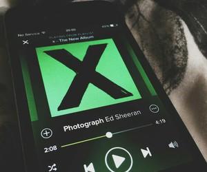 photograph, ed sheeran, and x image