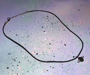 grunge, necklace, and saturn image