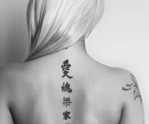 woman#back#tatoo image