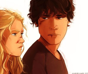 bellamy, the 100, and clarke griffin image