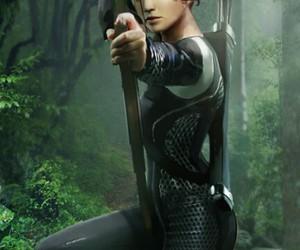 Jennifer Lawrence, katniss, and the mockinjay image