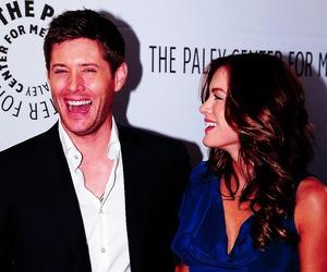 Jensen Ackles, danneel harris ackles, and love image