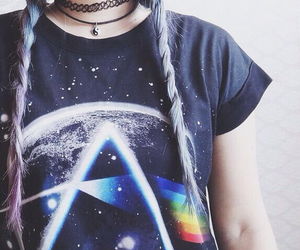 grunge, Pink Floyd, and hipster image