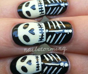 Halloween, cute, and nails image
