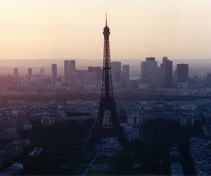 art, eiffel tower, and photography image