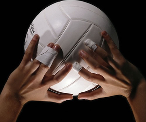 sports, volleyball, and tumblr post image