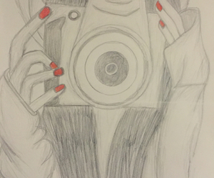 camera, red, and cool image
