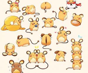 pokemon, dedenne, and anime image