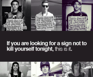 oliver sykes, vic fuentes, and kellin quinn image