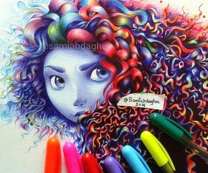 brave, colors, and draw image