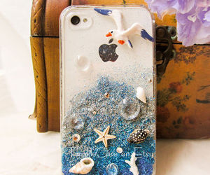 case, iphone, and beach image