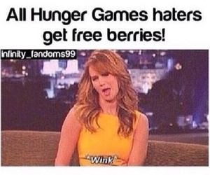 haters, Jennifer Lawrence, and hunger games image