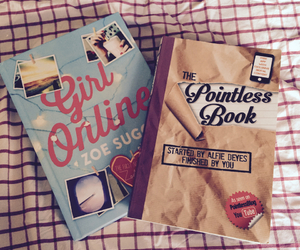 books, pointless, and zoella image