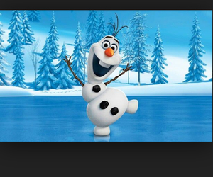 olaf and frozen image