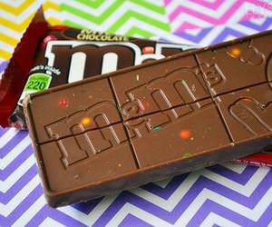 chocolate, food, and m&m's image