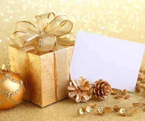 glitter, gold, and new year image