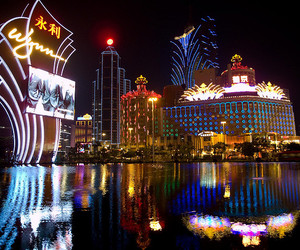 asia, casino, and china image