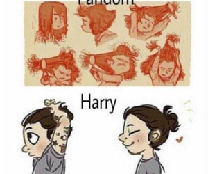 Harry Styles, fandom, and one direction image