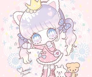 illustration, kawaii, and cute image