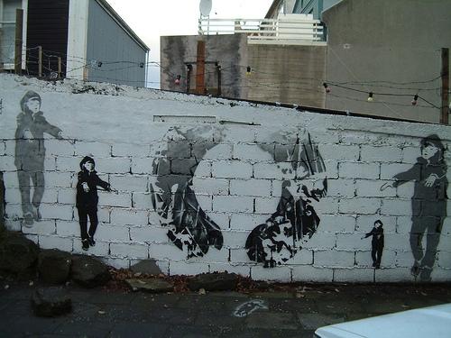 art, graffiti, and reykjavik image