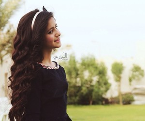 arab, pretty, and little girl image