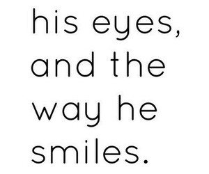 eyes, him, and love image