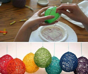 diy, balloons, and decoration image