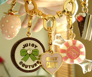 juicy couture, bracelet, and candy image