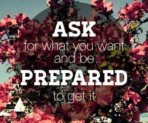 ask, quote, and prepared image