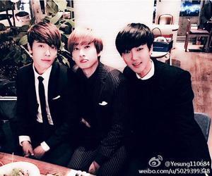 donghae, eunhyuk, and yesung image