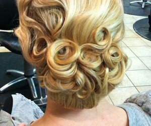curls, fancy, and long hair image